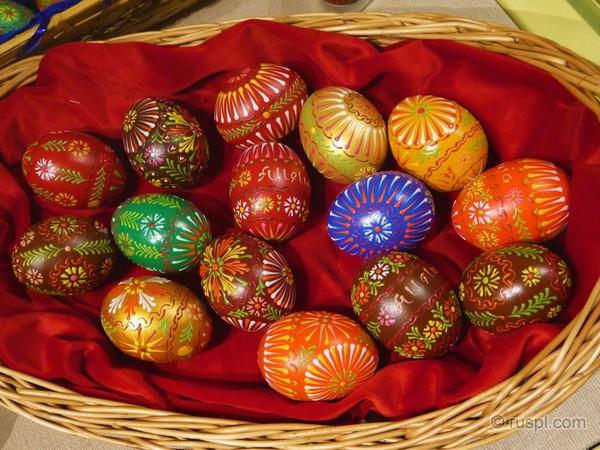 пасхальные яйца - крашенки и писанки в Польше