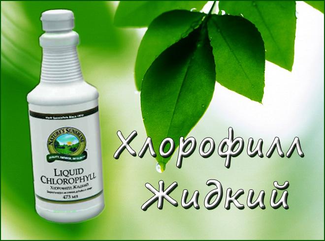 Польза применения Хлорофилла от nsp