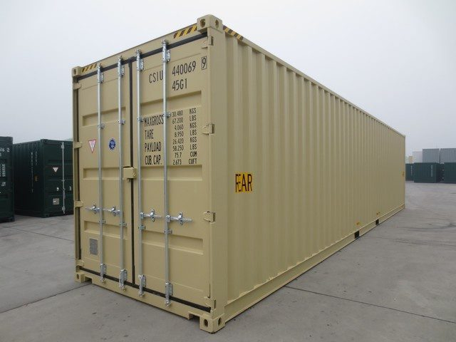 Контейнер 20 футов High Cube: основные характеристики